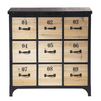 cd dvd regal maisons du monde. Black Bedroom Furniture Sets. Home Design Ideas