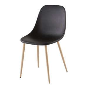 Chaise contemporaine noire
