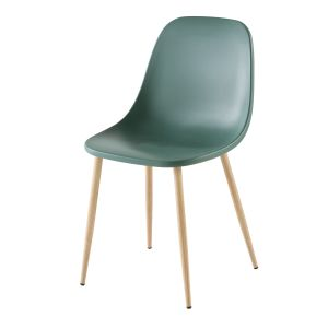 Chaise contemporaine verte