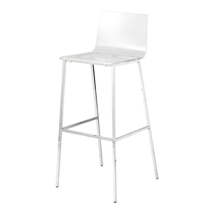 Chaises plastique transparent for Chaise de plastique