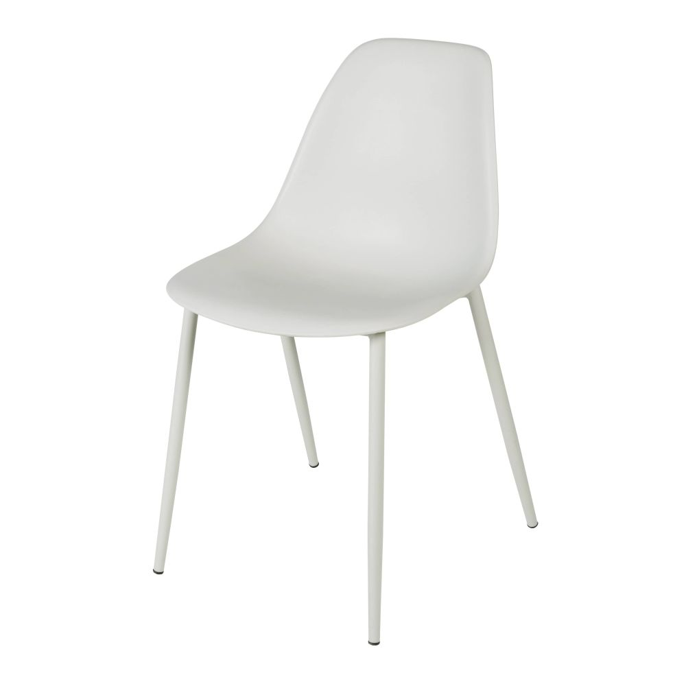 Chaise enfant style scandinave grise Clyde (photo)