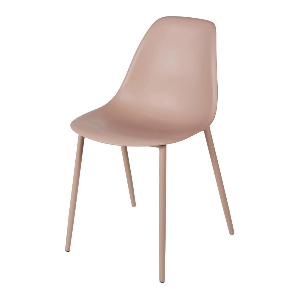 Chaise enfant style scandinave rose Clyde
