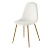 Chaise scandinave blanche - Clyde