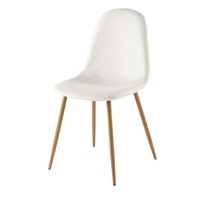Chaise style scandinave blanche Clyde
