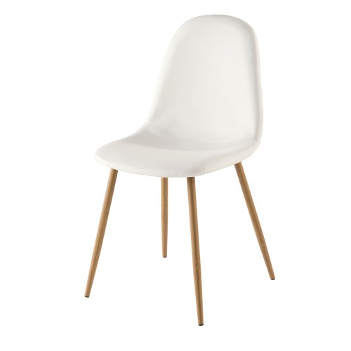 Chaise style scandinave blanche