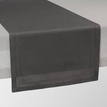 Chemin de table maisons du monde - Chemin de table gris anthracite ...