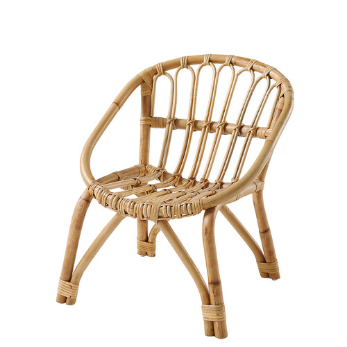 Child's rattan chair