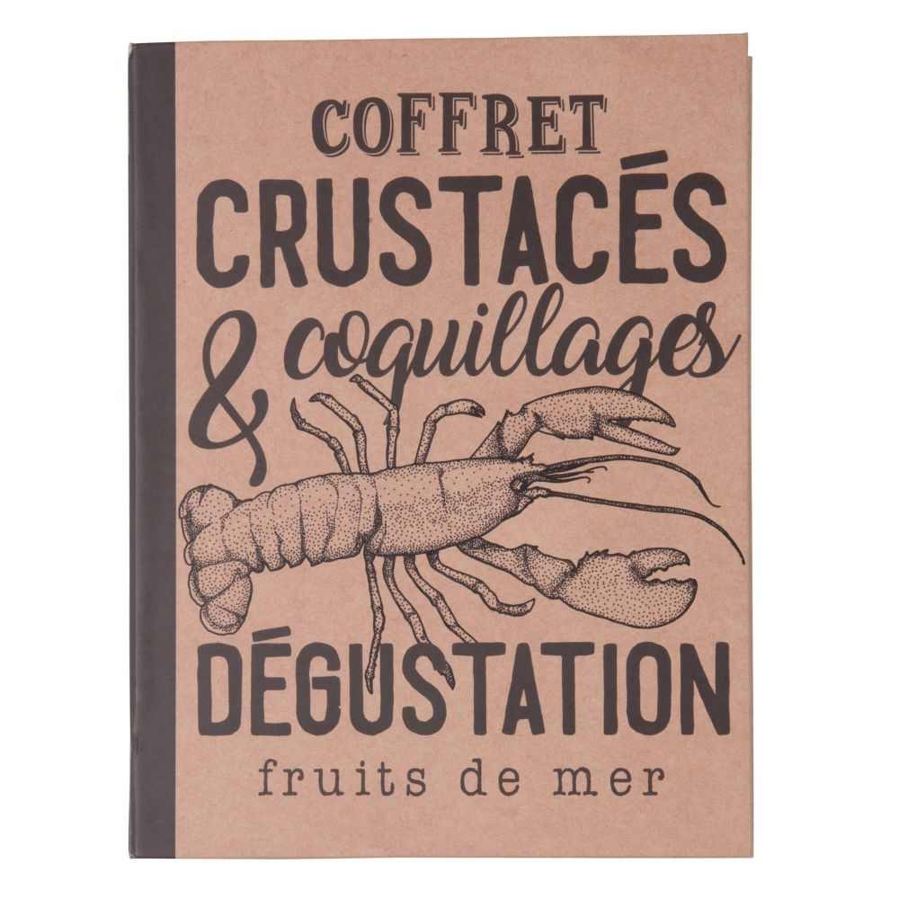 Coffret de dégustation crustacés en métal (photo)