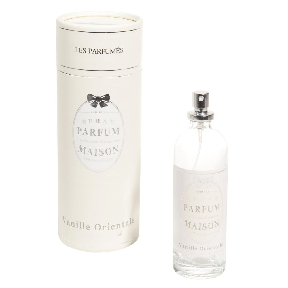 Coffret spray parfumé vanille (photo)