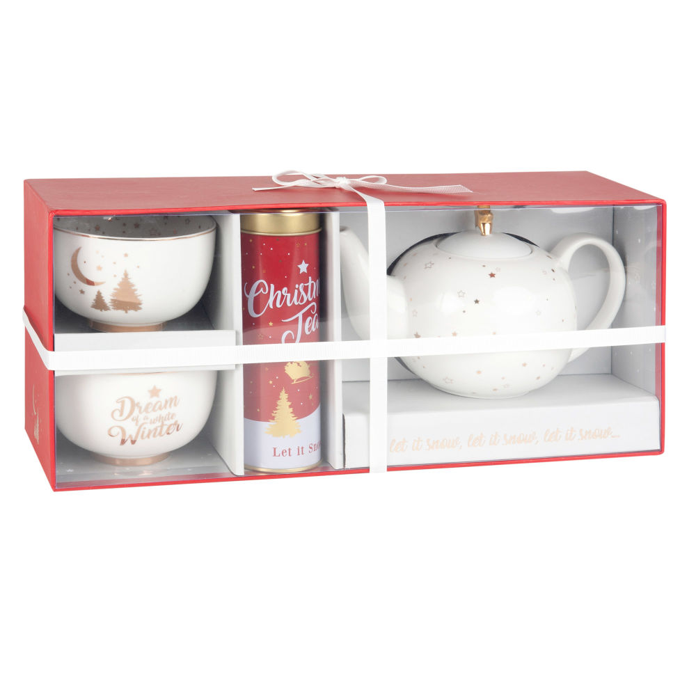 Coffret thé CLASSIC CHRISTMAS (photo)