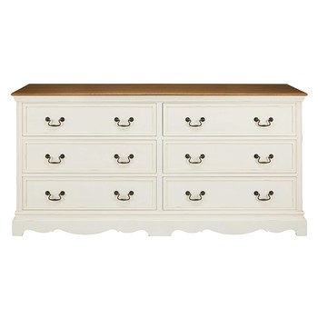 Commode blanche maisons du monde - Commode 6 tiroirs blanche ...
