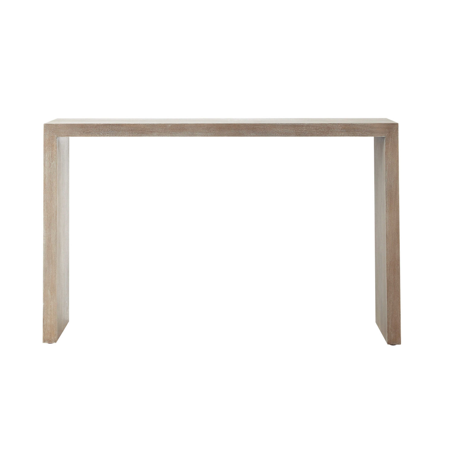 console en bois blanchi l 130 cm maisons du monde. Black Bedroom Furniture Sets. Home Design Ideas
