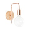Copper-Colour Metal Industrial Wall Lamp