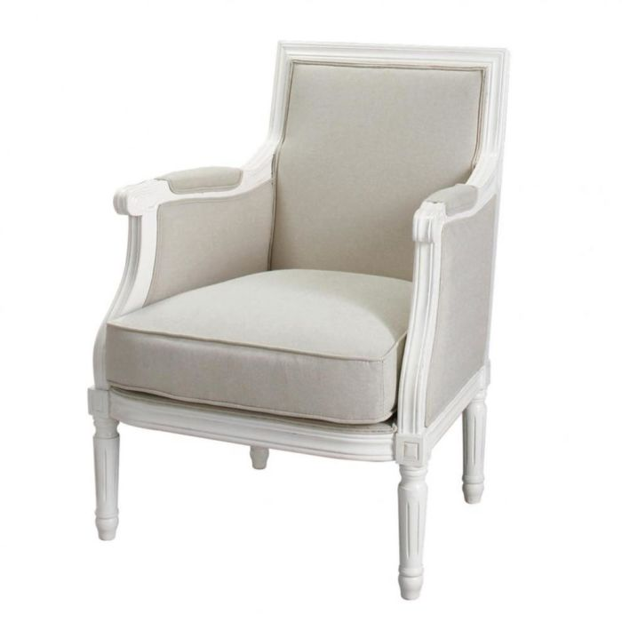 Poltrone Maison Du Monde.Cotton Armchair In Putty