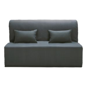 Cotton Z-bed cover in slate grey
