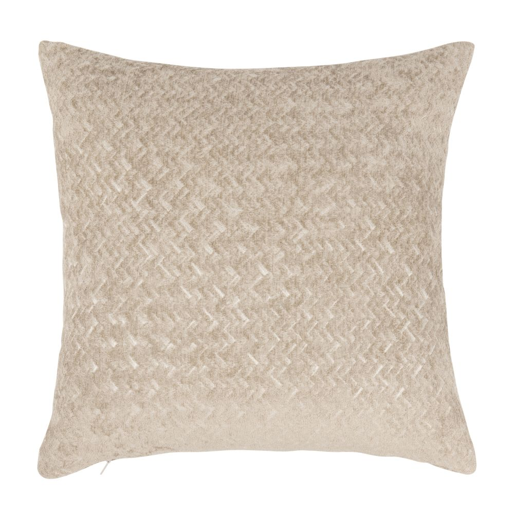 Coussin beige 40x40 (photo)
