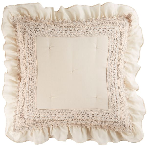 Coussin beige 60x60 (photo)