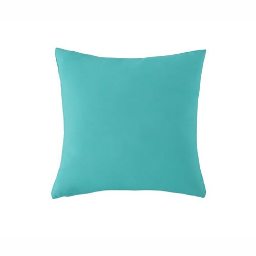 coussin d 39 ext rieur bleu turquoise 40 x 40 cm maisons du monde. Black Bedroom Furniture Sets. Home Design Ideas