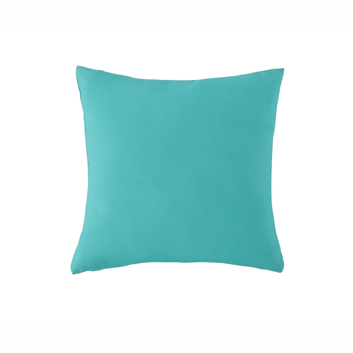 coussin d 39 ext rieur bleu turquoise 40x40 maisons du monde. Black Bedroom Furniture Sets. Home Design Ideas