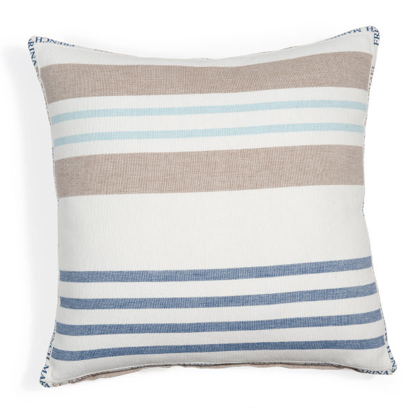Coussin en coton 50 x 50 CAP MARTIN (photo)