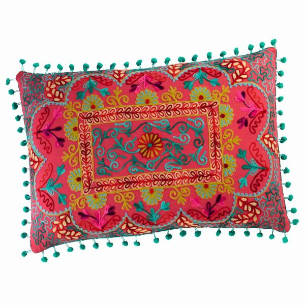 Coussin en coton multicolore 30 x 50 cm COPIACO (photo)