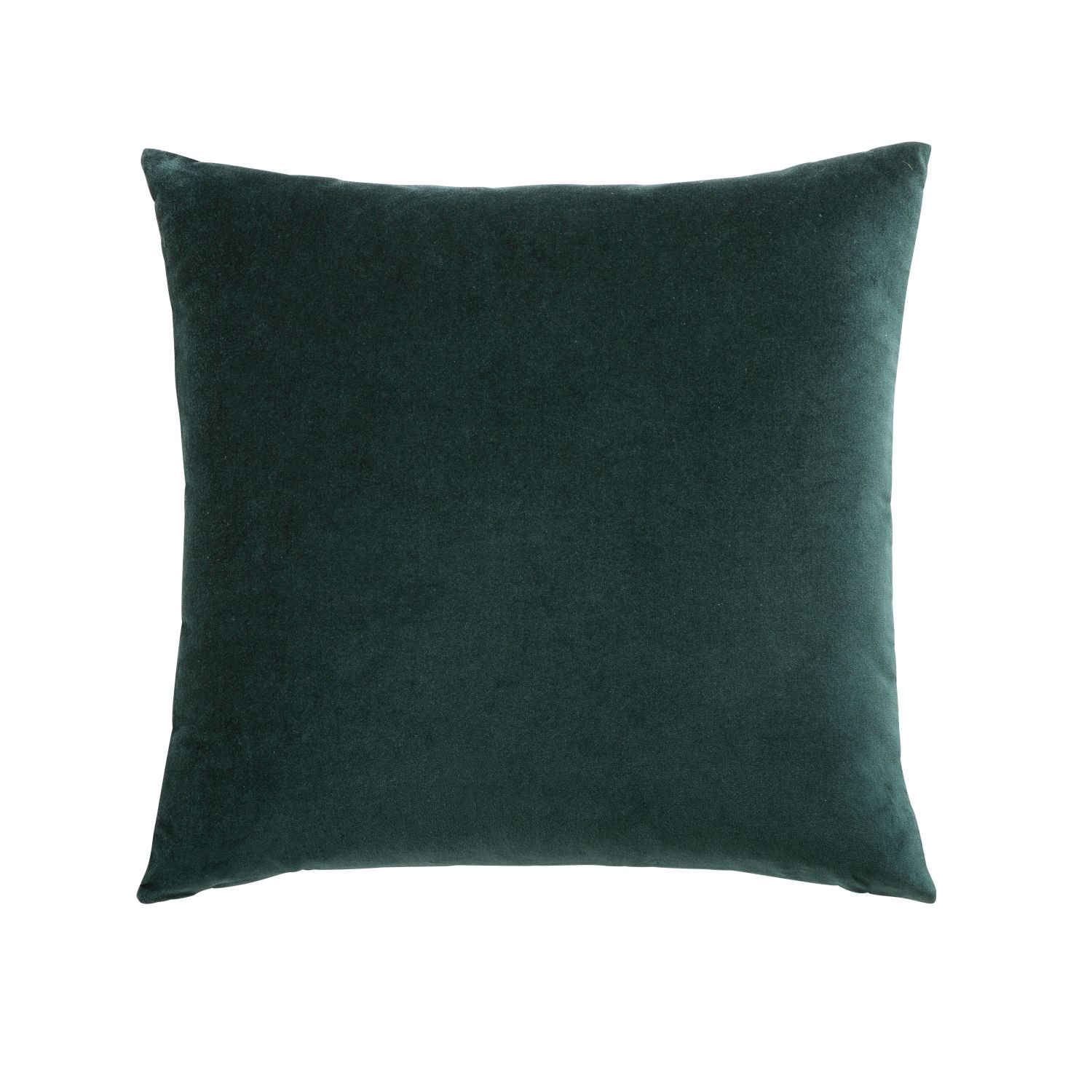 coussin en velours vert meraude 45x45 maisons du monde. Black Bedroom Furniture Sets. Home Design Ideas