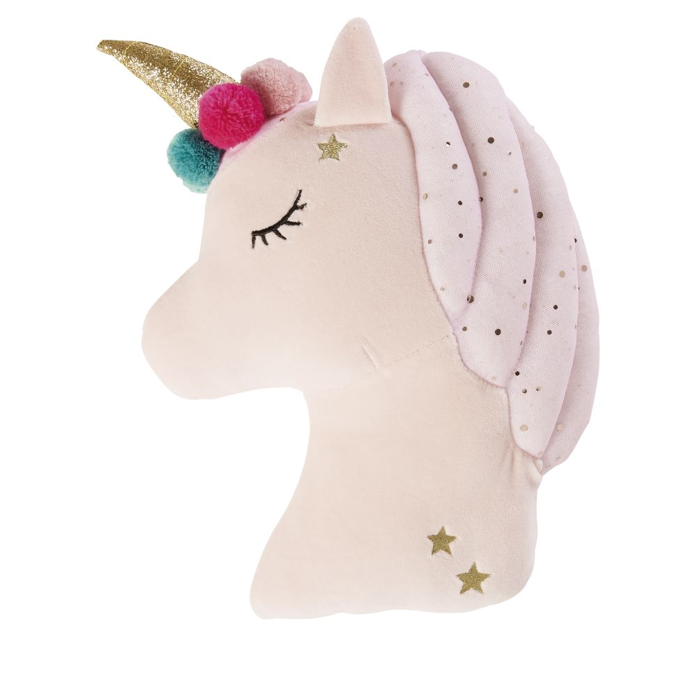 Coussin licorne multicolore 30x50 (photo)