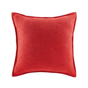 Coussin rouge 45x45