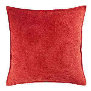 Coussin rouge 60x60