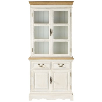 Excellent Page Cream China Cabinet Lontine With Maison Du Monde Console  Josephine