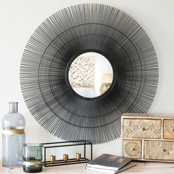 mirrors wall decoration maisons du monde. Black Bedroom Furniture Sets. Home Design Ideas