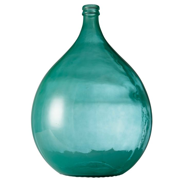 Blue smoked glass vase h 56 cm maisons du monde dame jeanne bleu reviewsmspy
