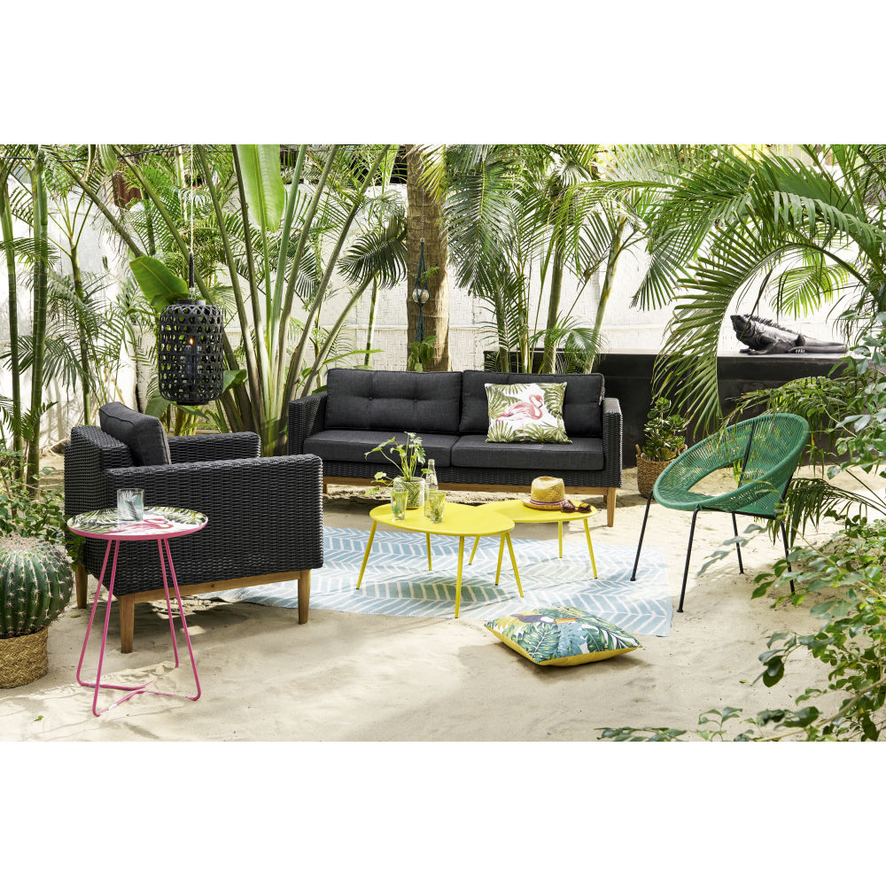 salon salon de jardin jonc de mer meilleures id es pour la conception et l 39 ameublement du jardin. Black Bedroom Furniture Sets. Home Design Ideas