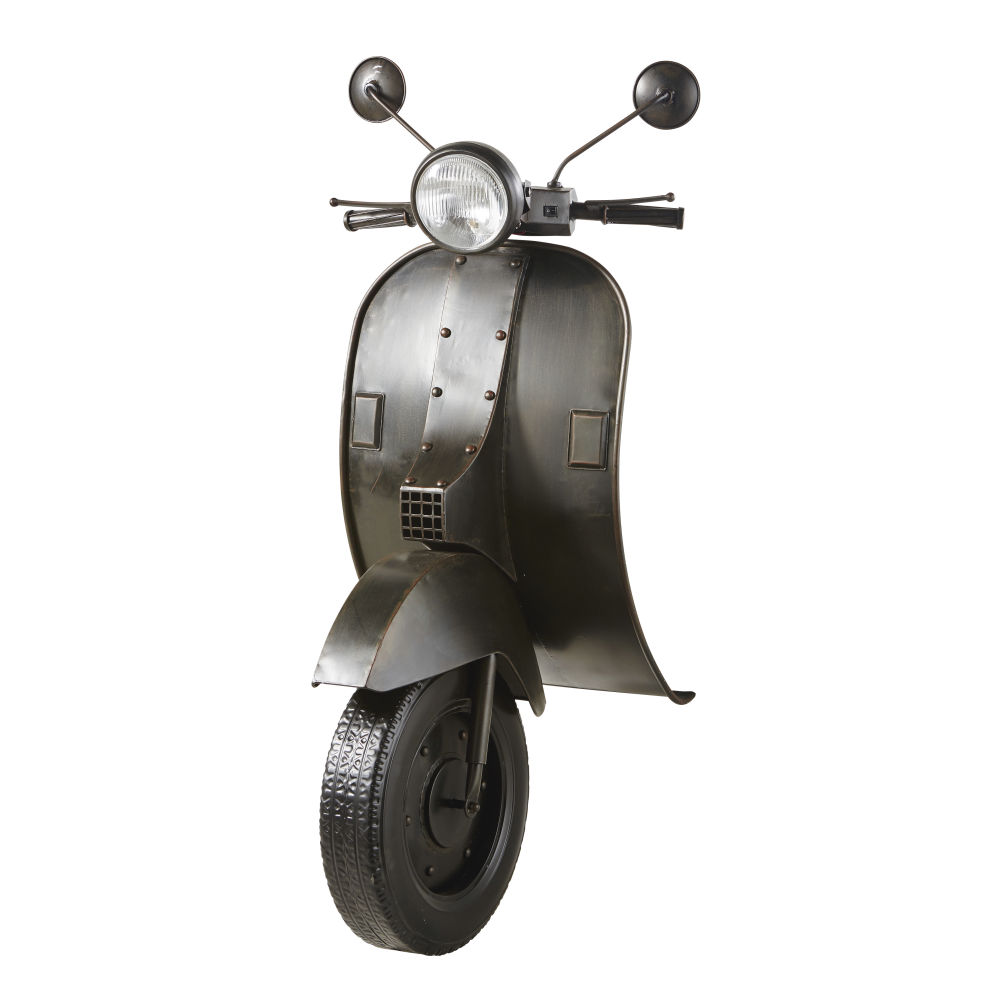 Déco Murale Lumineuse Scooter