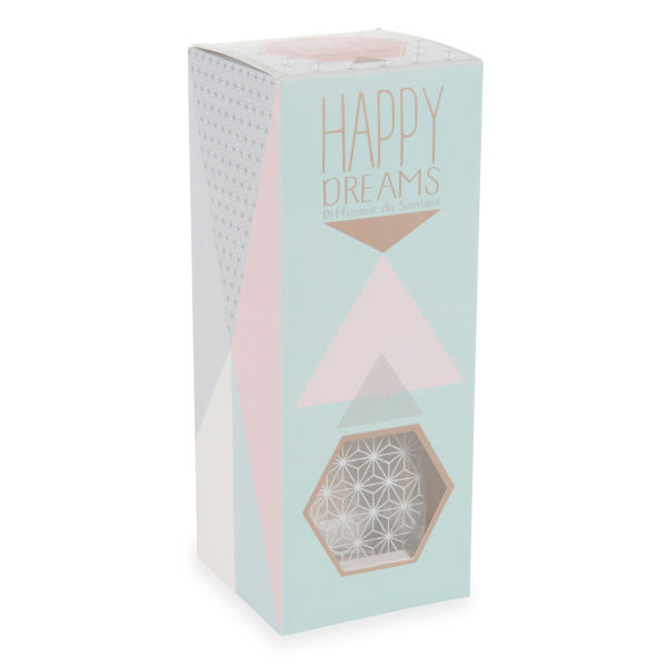 Diffuseur de parfum 100ml en verre HAPPY DREAMS
