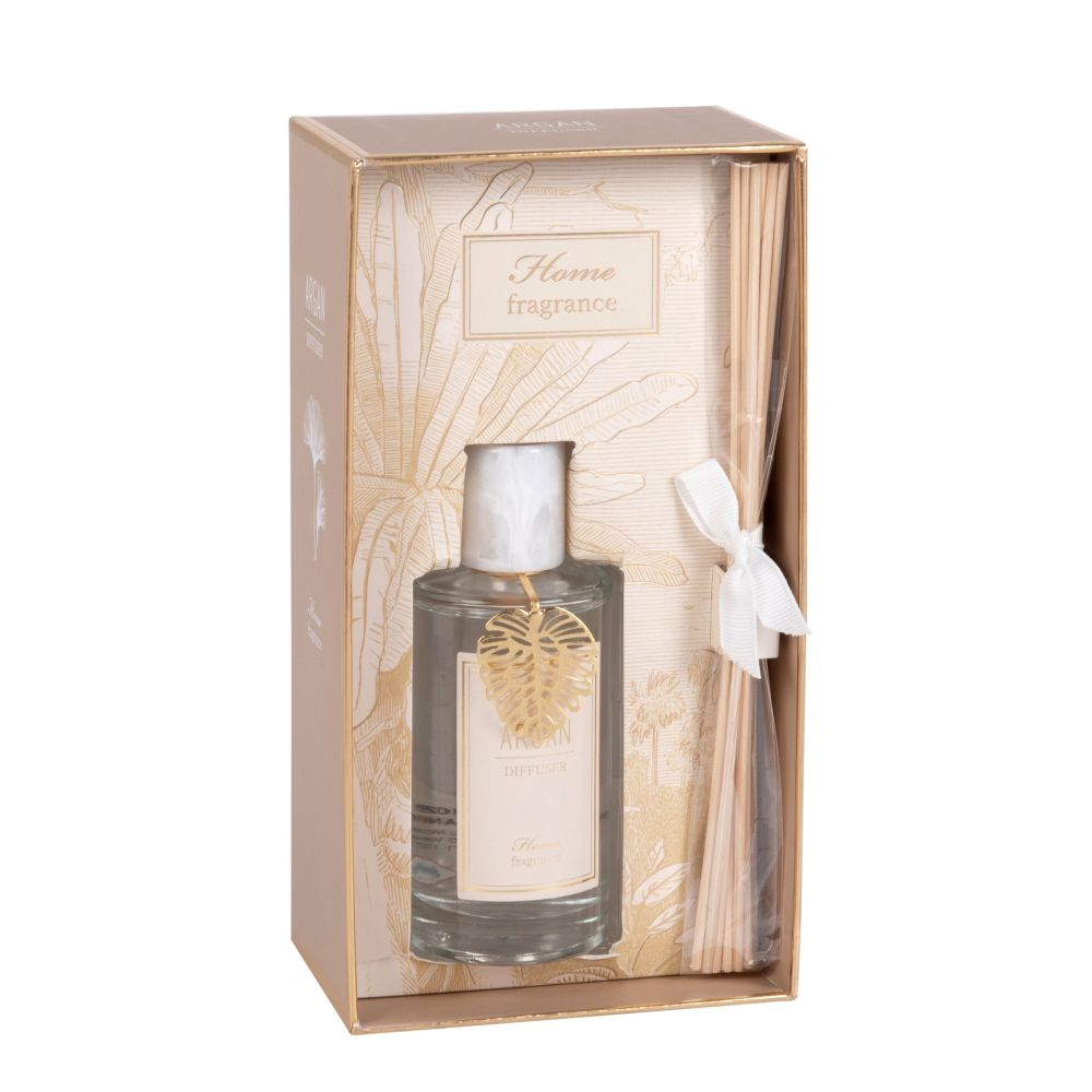 Diffuseur en verre parfum argan 100ml (photo)