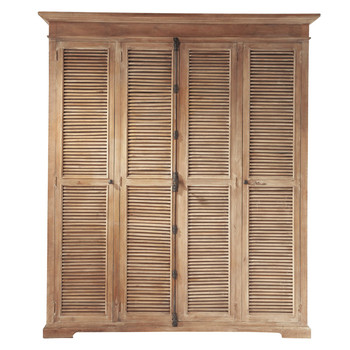 armoire dressing en bois ou m tal maisons du monde. Black Bedroom Furniture Sets. Home Design Ideas
