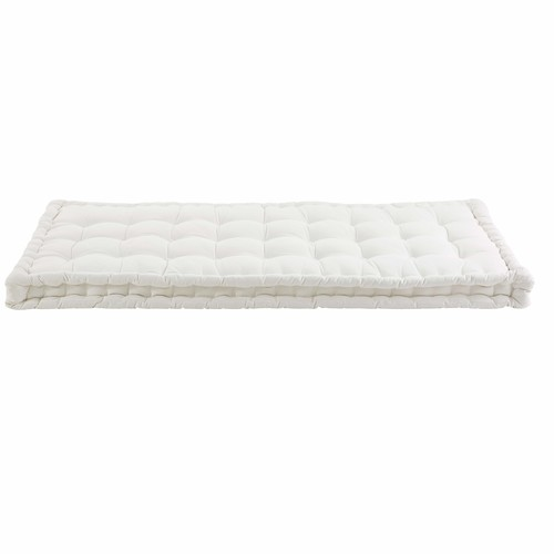 Ecru Cotton Futon Mattress 90x190