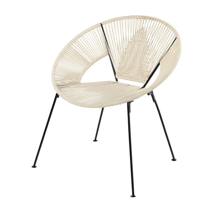 chaise corde tresse affordable fauteuil en corde tressee beige pas cher with chaise corde. Black Bedroom Furniture Sets. Home Design Ideas