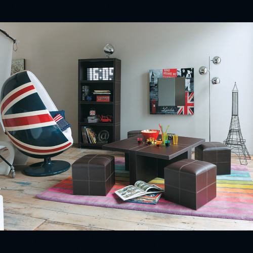 fauteuil uk coquille maisons du monde. Black Bedroom Furniture Sets. Home Design Ideas