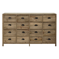 Fir Storage Cabinet Woodpecker