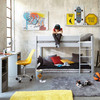 gaddiposh matratze aus baumwolle 90 x 190 cm anthrazitgrau maisons du monde. Black Bedroom Furniture Sets. Home Design Ideas