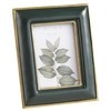 Green and Gold Photo Frame 6 x 8 cm
