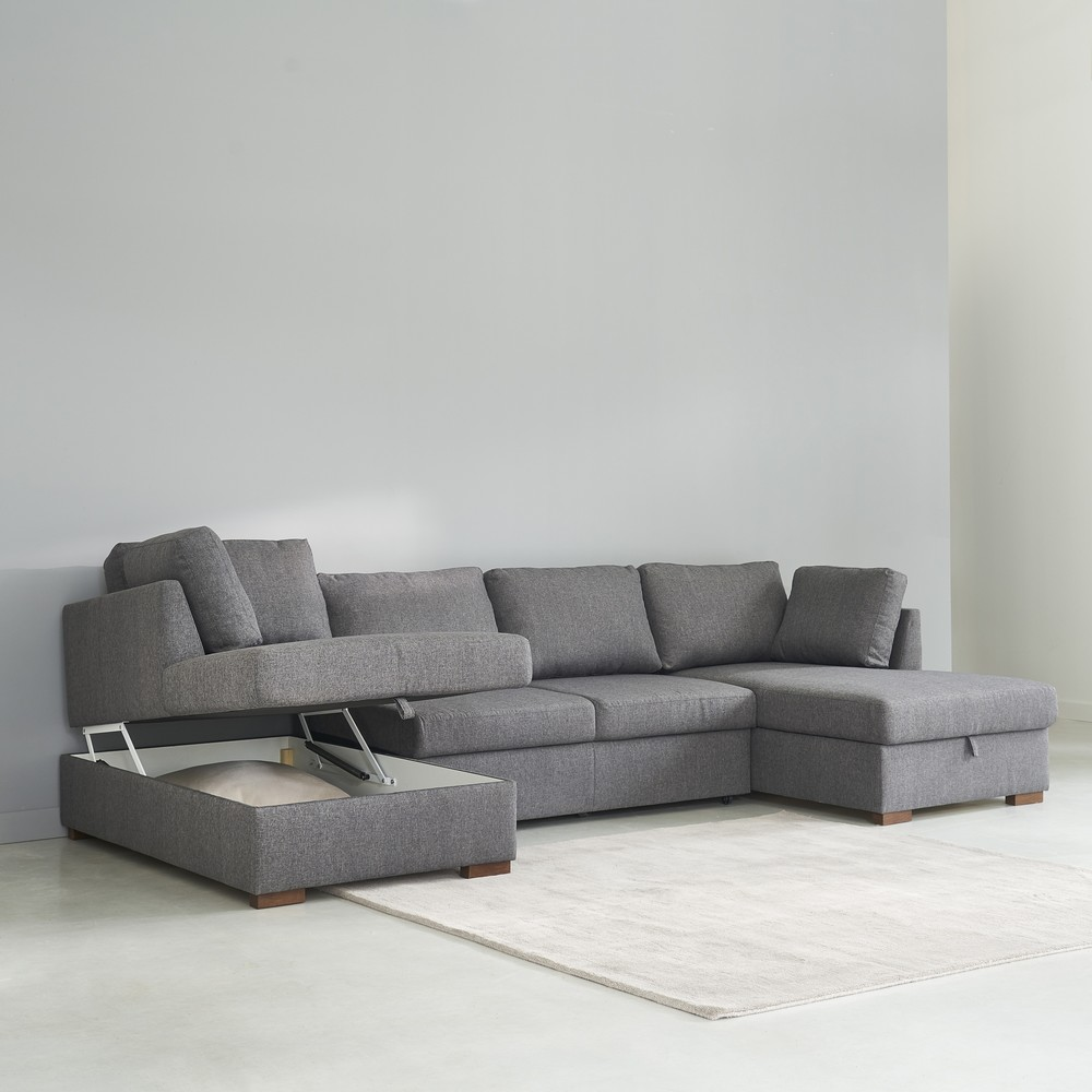 u shaped sofa bed i want one of these need it to fit in my living room definitely thesofa. Black Bedroom Furniture Sets. Home Design Ideas