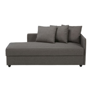 Grey Fabric Chaise longue