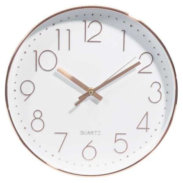 Horloge D 31 cm SWAGGY COPPER (photo)