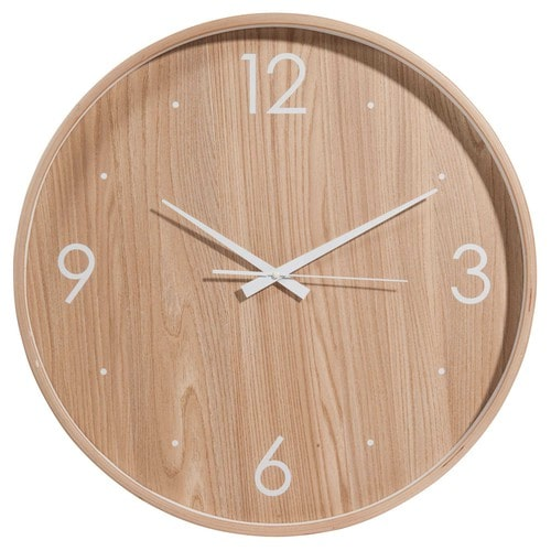horloge en bois d 53 cm brovick maisons du monde. Black Bedroom Furniture Sets. Home Design Ideas