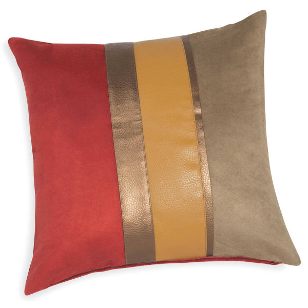 Coussin housse rouge for Housse coussin rouge