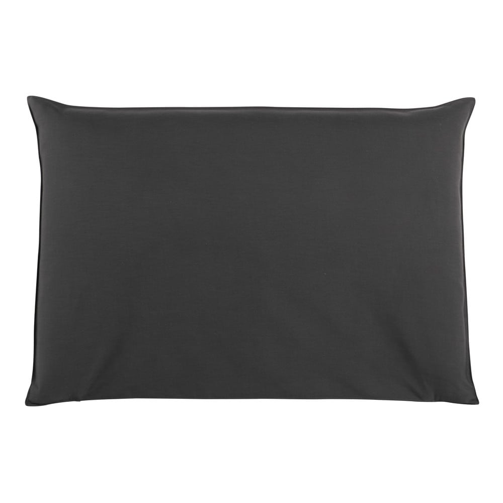 Housse de tête de lit 160 anthracite Soft (photo)