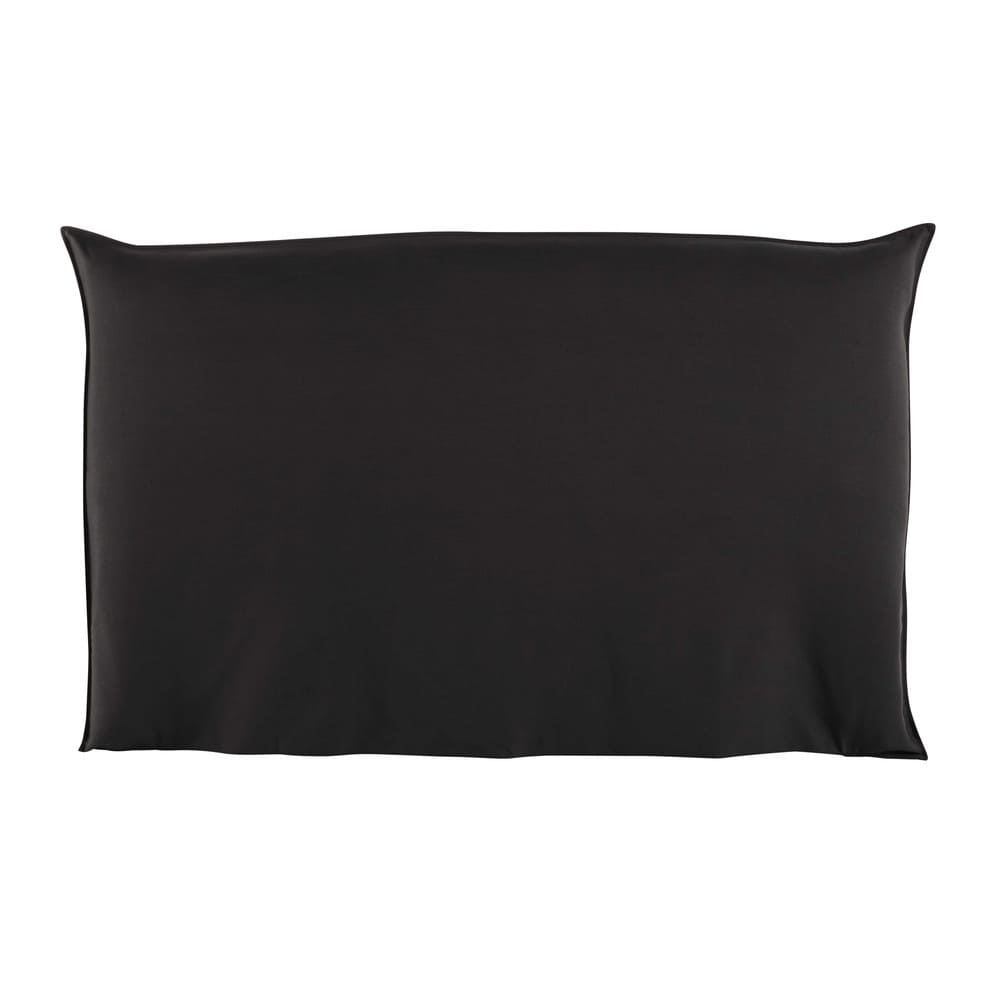 Housse de tête de lit 180 anthracite Soft (photo)